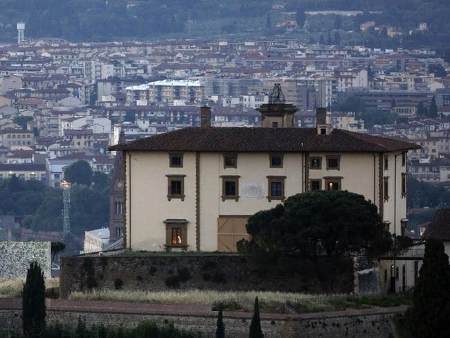 A view of the Forte Belvedere in Florence, Italy.