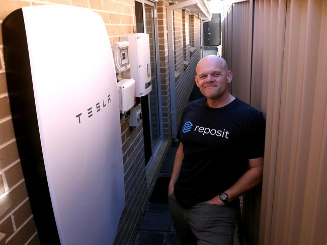 Nick Pfitzner from Kellyville Ridge and his family have slashed their power bill by an astonishing 90 per cent after installing Australia's first Tesla Powerwall in their home.