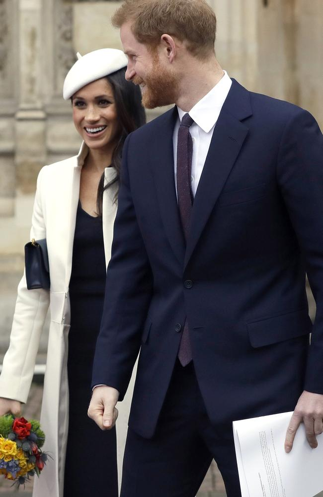 The royal couple will invite 600 to a reception and 200 to another dinner afterwards. Picture: MEGA.