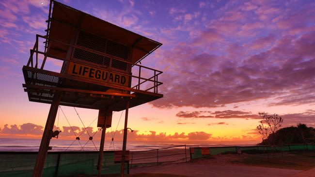 In addition to fantastic views of the Gold Coast skyline, Nobby Beach is a great place to catch beautiful sunrises. Picture: @julesingall
