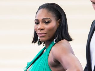 Serena Williams at Metropolitan Museum of Art, May 1, 2017 in New York City. Photo: Gilbert Carrasquillo/GC Images.