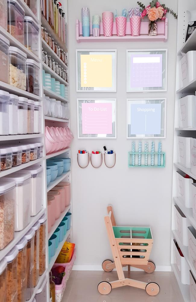 She designed the pantry herself. Picture: Iryna Federico