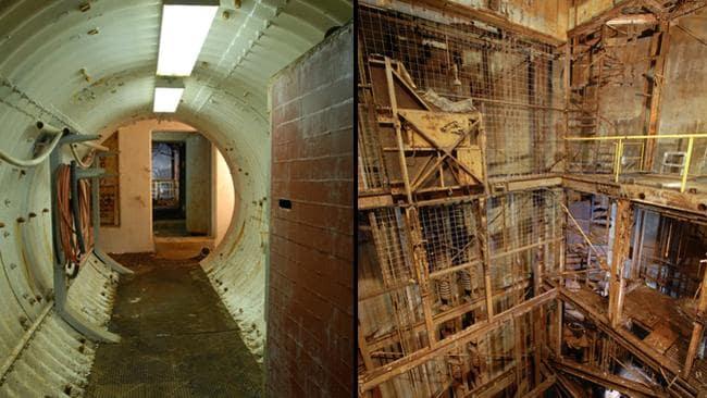 inside silo