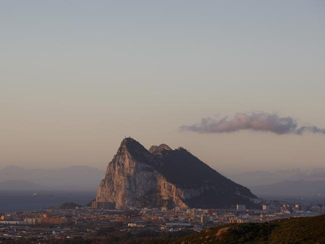 2014-JO25 is approximately as big as the Rock of Gibraltar. Picture: Getty