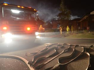 Fire has destroyed the community centre at the Tudor Village retirement home in Lilydale. CFA and MFB firefighters, SES and Police were at the village dealing with the emergency.