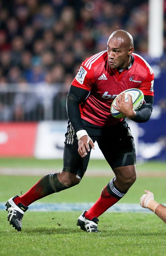 Nemani Nadolo is an attacking threat for the Crusaders.