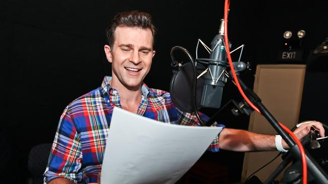 singer david campbell adds voice to new aussie disney