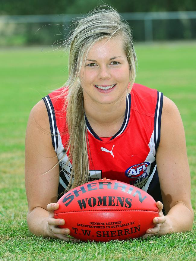 Katie Brennan still chasing her dream of pulling on AFL ...