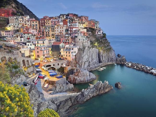 Hashtag your way to paradise. Pictured is Manarola.