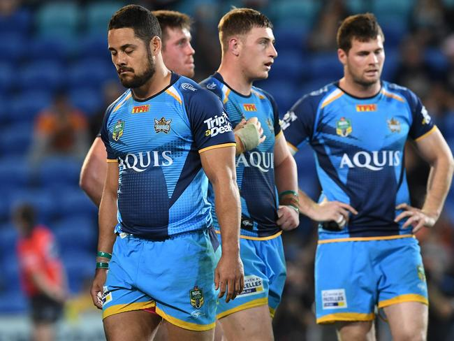 The Jarryd Hayne experiment has failed on the Gold Coast.