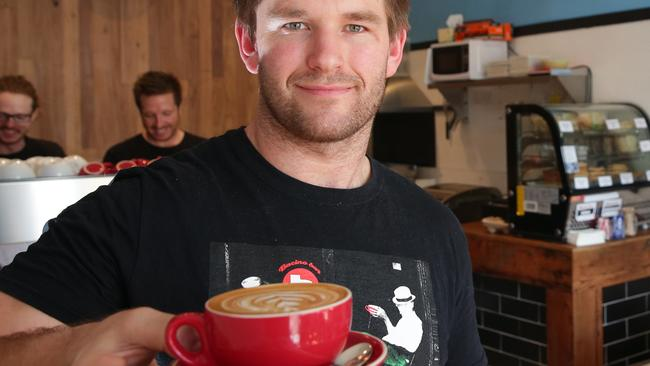 Do we prefer our local baristas such as Mitchell Leach from Balgowlah cafe Bacino.