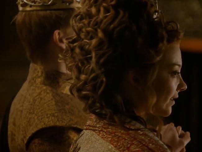 And boy, doesn't Margaery seem satisfied?