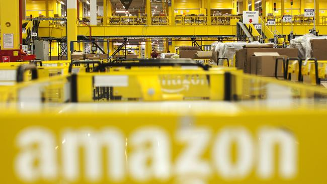 Amazon has a warehouse in Melbourne but no official Aussie launch date. Picture: Bartek Sadowski/Bloomberg
