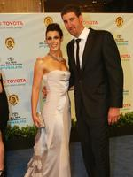 With wife Kerry at the 2009 Brownlow Medal.
