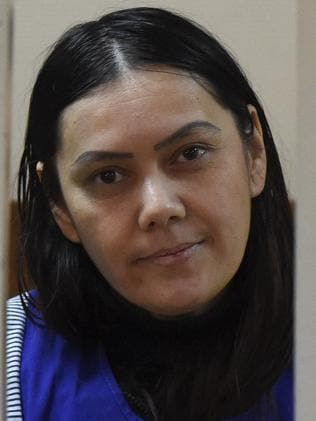 Bobokulova claims Allah told her to murder the four-year-old. Picture: AFP/Vasily Maximov.