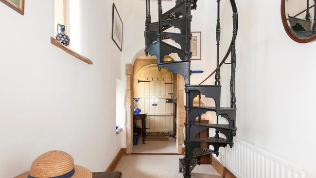 The castle has its original door from 1834. Picture: Savills