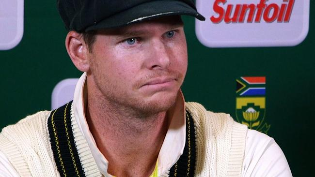 Apparently Smith only cheated because he really wanted to win. Who would've thought? Picture: AFP