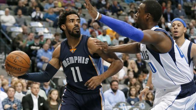 Memphis Grizzlies guard Mike Conley.