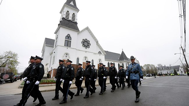 Boston Marathon Officer Funeral