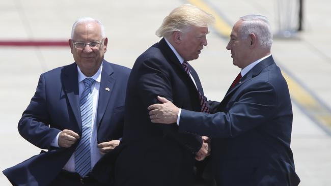 Image result for donald trump in israel