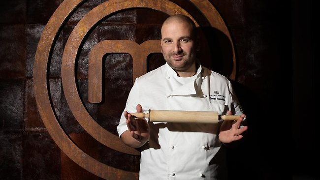 Previously: Judge George Calombaris from the Channel Ten (10) TV program 'MasterChef Australia'.