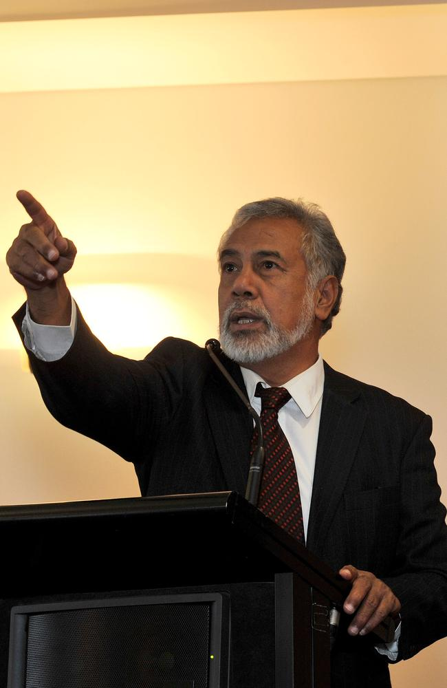 Get out ... East Timor Prime Minister has revoked the visas of foreigners working in the judiciary.