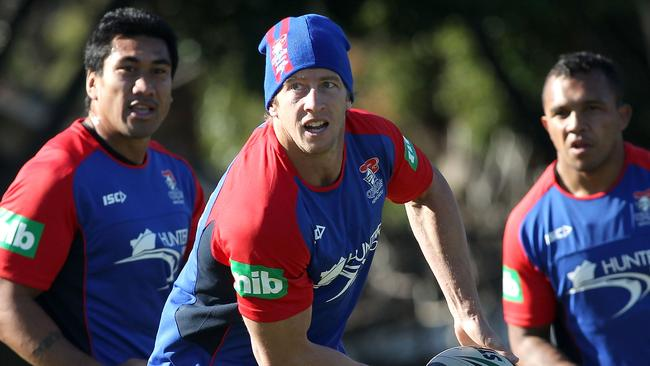 Kurt Gidley is hoping to come back strong against South Sydney.