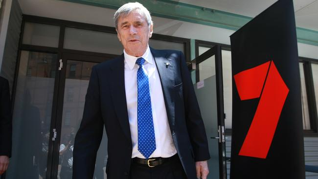 Seven West Media chairman Kerry Stokes has stood by his CEO amid the public backlash. Picture: News Corp