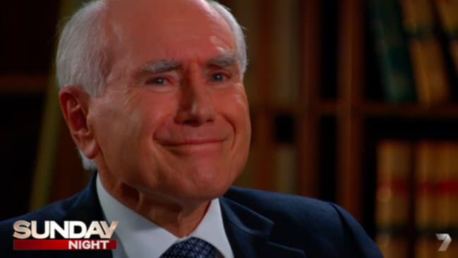 Power play ... John Howard says Julia Gillard had no authority because she never won an election in her own right.