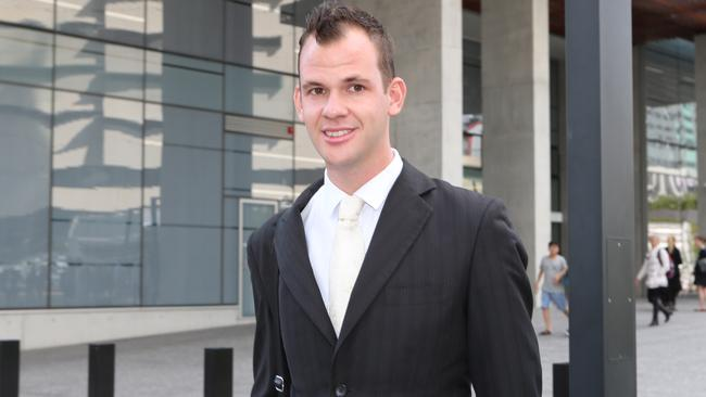 Mitchell Peggie was convicted of rape in the Brisbane District Court in August last year. Picture: Philip Norrish