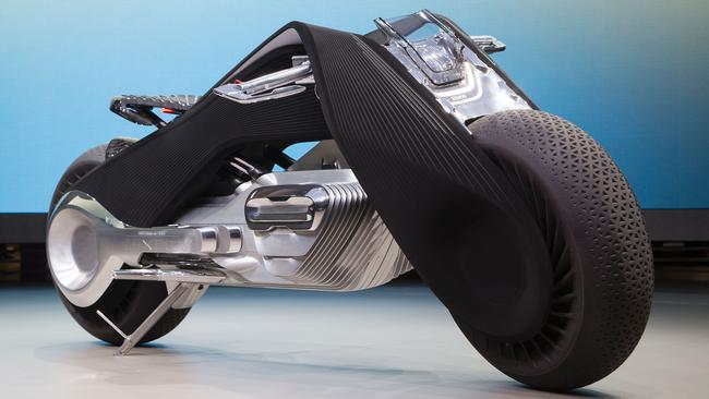 Bmw Motorrad Vision Next 100 Motorcycle Is Self Balancing