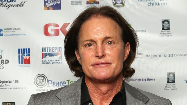 We never realised Bruce Jenner had his own waxwork at Madame Tussauds. Go Bruce! Picture: Getty Images