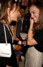 Tara Palmer-Tomkinson and Kate Middleton attend the book launch party of The Young Stalin: The Adventurous Early Life Of The Dictator 1878-1917 by Simon Sebag Montefiore, at Asprey May 14, 2007 in London, England. Picture: Dave M. Benett/Getty Images
