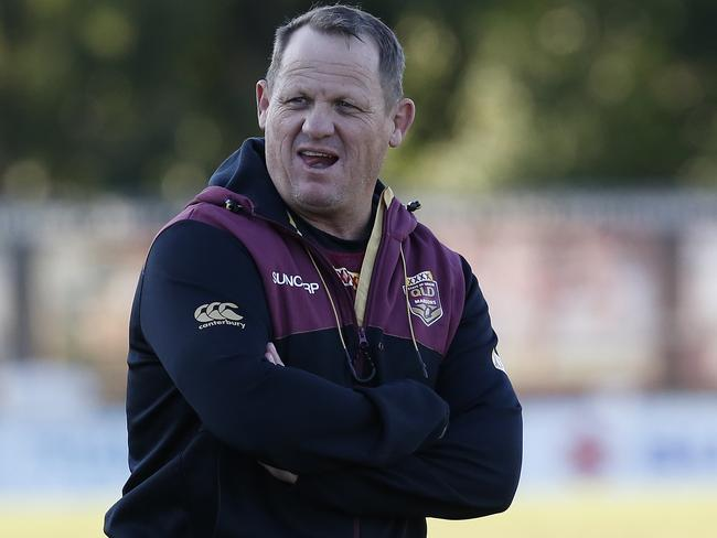 Maroons coach Kevin Walters during the Queensland Maroons training session.