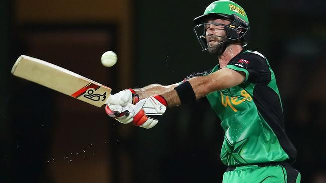 Glenn Maxwell was in great form for the Stars on Tuesday night.