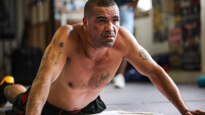 Anthony Mundine and Tim Tszyu Training Session