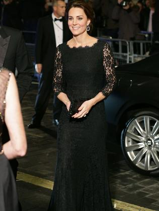 Catherine, Duchess of Cambridge arrives for The Royal Variety Performance in 2014. Picture: Yui Mok — WPA Pool /Getty Images