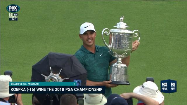 Image result for 2018 PGA Champion Brooks