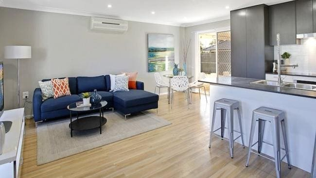Only 8.9 per cent of house sales in Sydney are for less than $400,000. This newly renovated home at 40 Castlereagh St, Sydney is listed for offers above $399,000. Picture: realestate.com.au