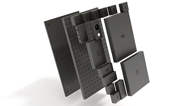 Phonebloks is designed to work on an open source operating system so that users can control the software and hardware of their phones. Picture: Phonebloks