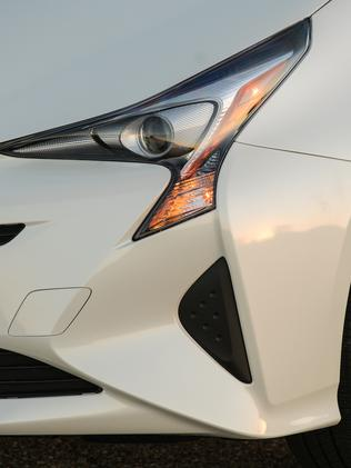 The Prius' headlights are eye-catching and so will be the replacement price if damaged. Picture: Supplied