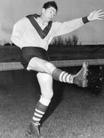 South Melbourne champion Ron Clegg.