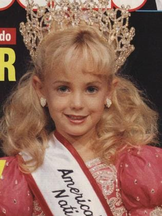 Child pageant queen JonBenet Ramsey was found dead in the basement of her Boulder, Colorado home in 1996. Picture: Supplied