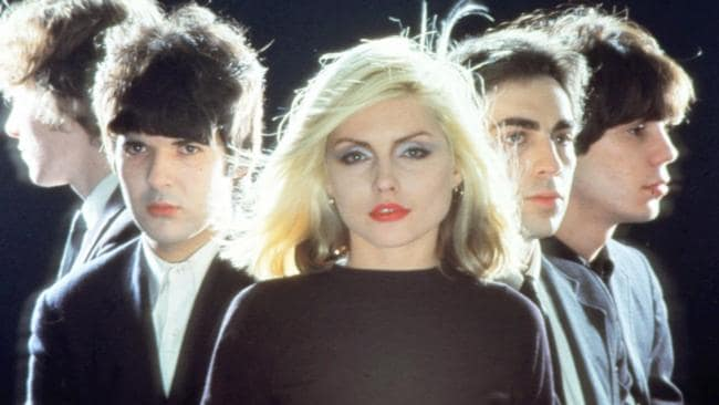 Flesh wounds: Blondie got their first hit anywhere through an accident on Countdown. Picture: Supplied
