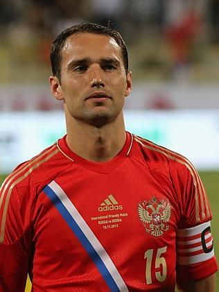 Roman Shirokov of Russia