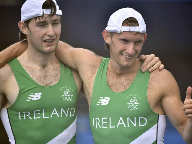 Green demons. Brothers Paul and Gary O'Donovan grabbed Ireland's first medal at Rio.