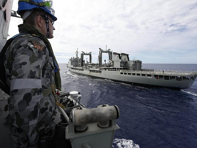 Two fresh signals have been picked up by Australian ship  <i>Ocean Shield</i> in the search for missing Malaysian flight MH370. Picture; AFP