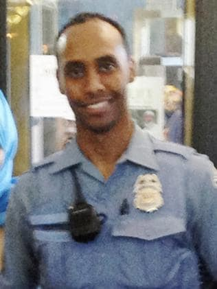 Minneapolis police officer Mohamed Noor, who fatally shot Justine Damond. Picture: City of Minneapolis via AP