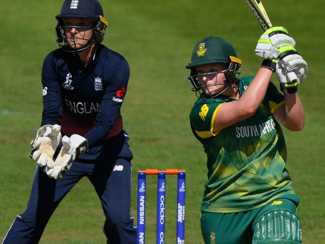 Big-hitting South African Lizelle Lee has been recruited by the Stars. Picture: Getty Images