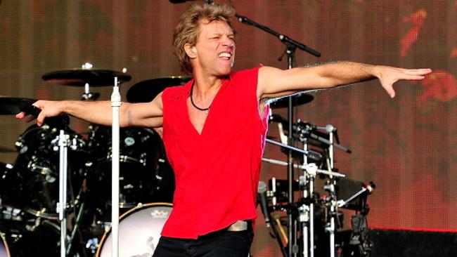 Jon Bon Jovi: widely misunderstood. (Photo by Matt Kent/WireImage)